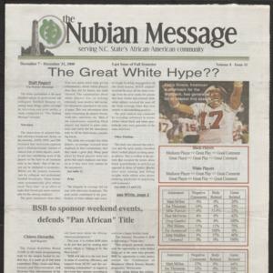 Nubian Message, December 7, 2000