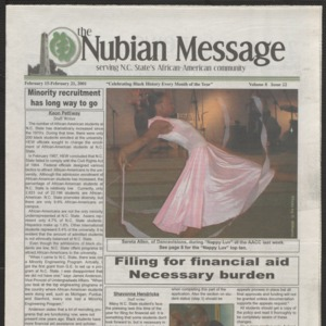 Nubian Message, February 15, 2001