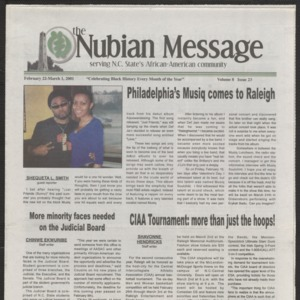 Nubian Message, February 22, 2001