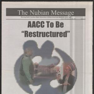 Nubian Message, August 30, 2001