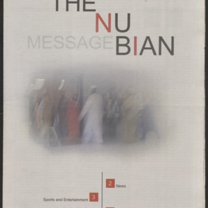 Nubian Message, October 25, 2001