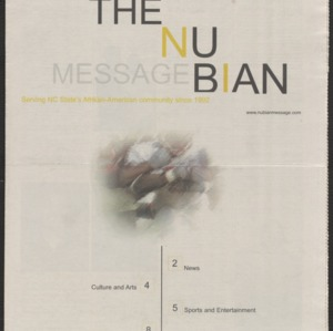 Nubian Message, November 15, 2001