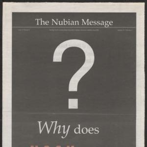 Nubian Message, January 31, 2002