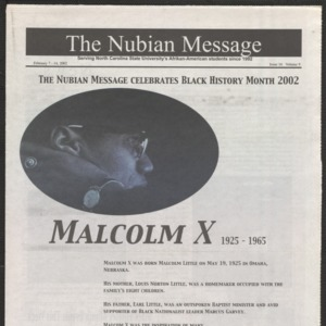 Nubian Message, February 7, 2002