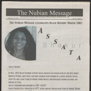 Nubian Message, February 14, 2002