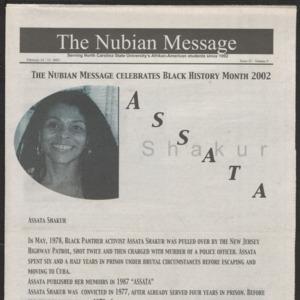Nubian Message, February 14, 2002