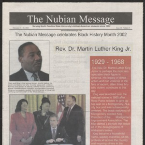 Nubian Message, February 21, 2002