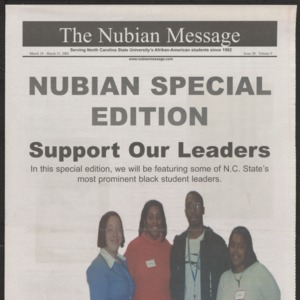 Nubian Message, March 18, 2002