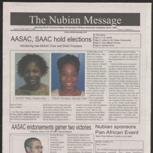 Nubian Message, April 11, 2002