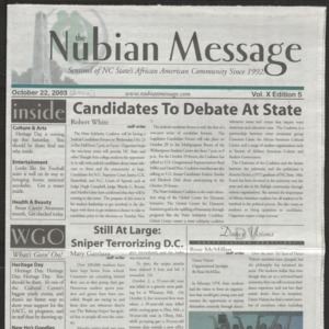 Nubian Message, October 22, 2002