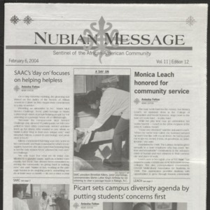 Nubian Message, February 6, 2004