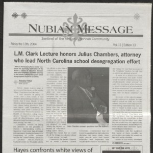 Nubian Message, February 13, 2004