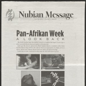 Nubian Message, April 28, 2004