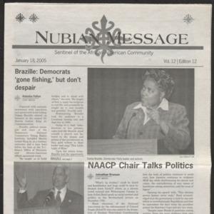 Nubian Message, January 18, 2005