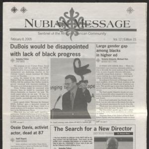 Nubian Message, February 8, 2005
