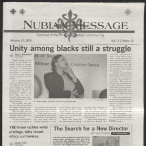 Nubian Message, February 15, 2005