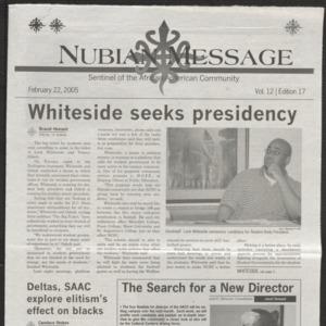 Nubian Message, February 22, 2005