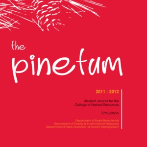 The Pinetum, 2011-2012, 77th Edition