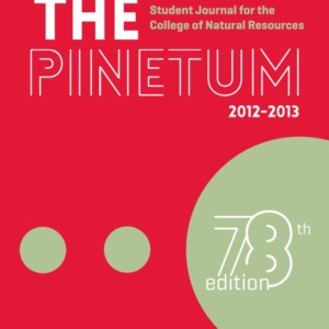 The Pinetum, 2012-2013, 78th Edition