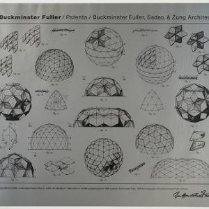 Laminar geodesic domes
