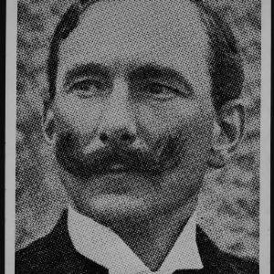 Dr. Carl Schenck portrait, 1908