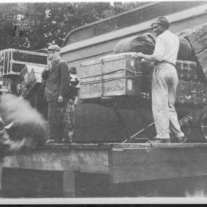 B.F.S. Baggage, Waynesville, N.C., 1911