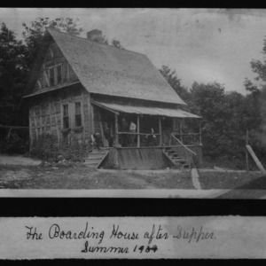 Boarding House After Supper, Summer 1909