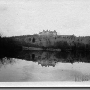Biltmore House Seen From the Lagoon