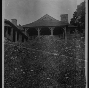 Rear View of Buck Spring Lodge, 1909