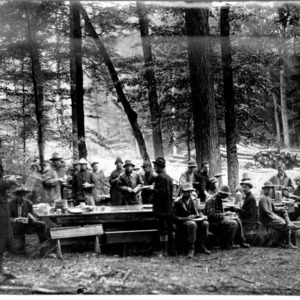 Biltmore Forest School in the Woods, 1911