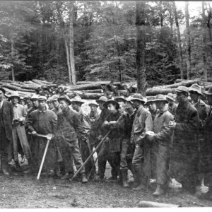 Biltmore Forest School in Camp, 1911