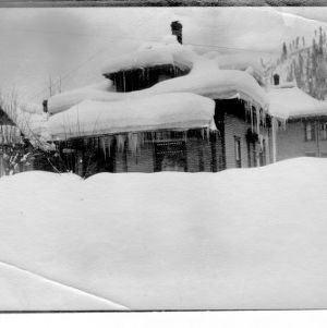 Wallace, Idaho in Winter