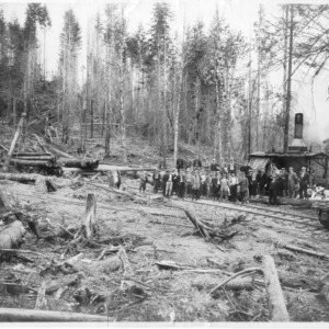 Biltmore Forest School at Chapman Timber Co., 1911