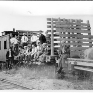 Going Out to Camp, 1911