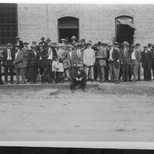 Biltmore Forestry School students group portrait