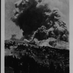 Mount Lassen Eruption, 1914