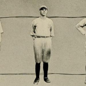 Averetta Floyd with Baseball Players, 1922