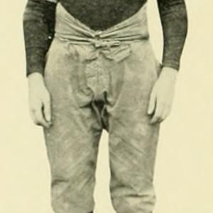 David Vansant Football Photo, 1923