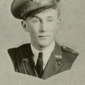 William Barker in ROTC Uniform, 1934