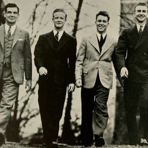 William Bailey with Student Government Officers, 1939