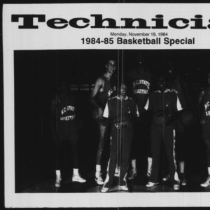 Technician, 1984-1985 Basketball Special, November 19, 1984