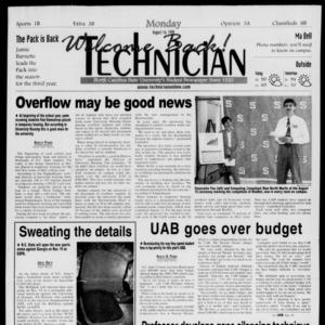Technician, August 16, 1999
