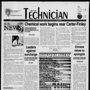 Technician, August 17, 1999