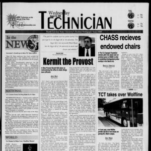 Technician, August 18, 1999