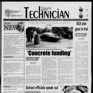 Technician, August 19, 1999