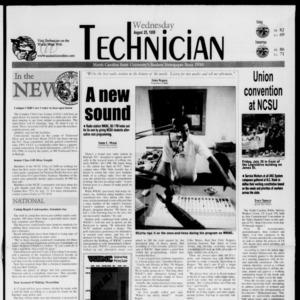 Technician, August 25, 1999