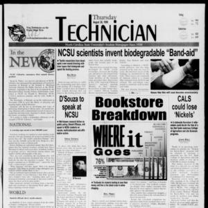 Technician, August 26, 1999
