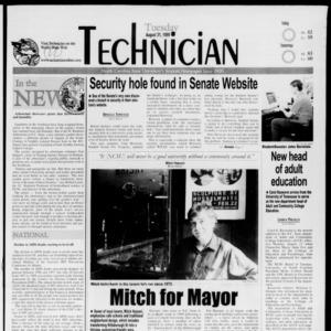 Technician, August 31, 1999