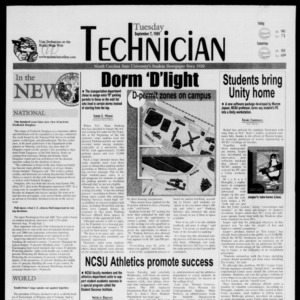 Technician, September 7, 1999