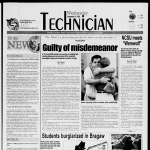 Technician, September 8, 1999